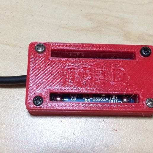 2.jpg Télécharger fichier STL gratuit Protection du boîtier Pile au lithium Module de chargement • Objet à imprimer en 3D, TB3D