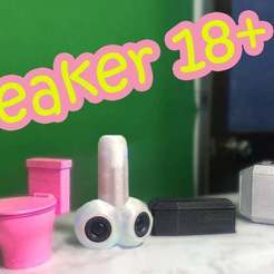 Download free STL file 18+ Bluetooth Speaker • 3D printing object, TB3D