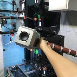 2020_06_13_17_29_IMG_9150.JPG Download free STL file Hammer Thor bluetooth speaker • 3D print model, TB3D