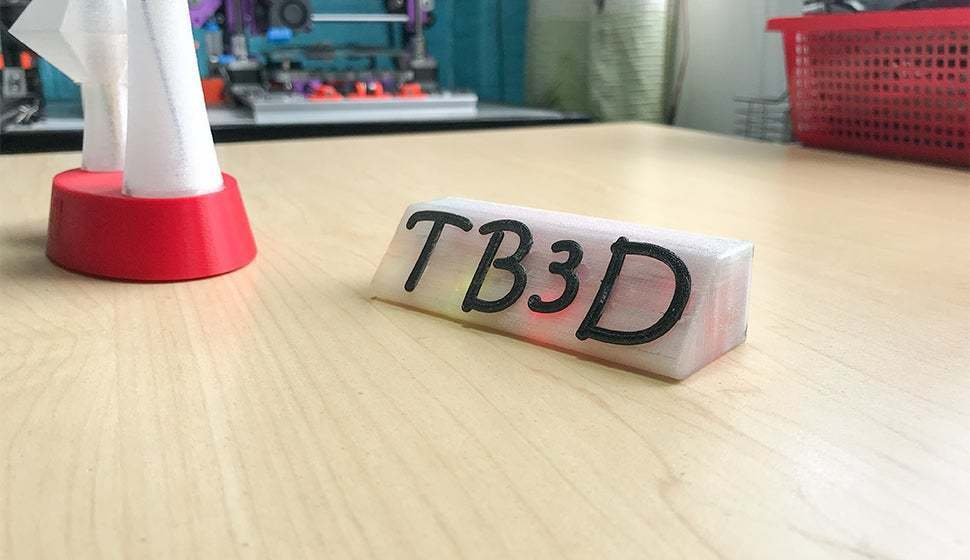 a5.jpg Download free STL file Name tag with Leds and alphabet • 3D printing object, TB3D