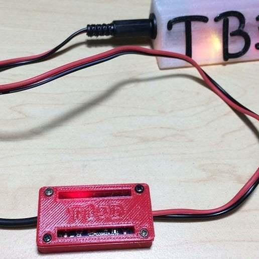 5.jpg Télécharger fichier STL gratuit Protection du boîtier Pile au lithium Module de chargement • Objet à imprimer en 3D, TB3D