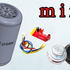 Download free 3D printing templates bluetooth speaker cocacola, TB3D