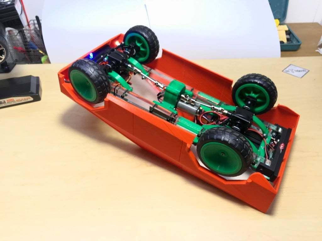 2020_06_11_20_56_IMG_9130.JPG Download free STL file RC car Cybertruck • 3D printing object, TB3D