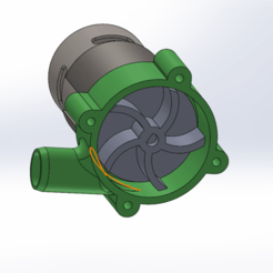 Download free STL Water Pumps 775, TB3D