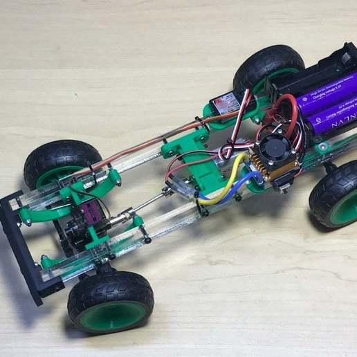 2020_06_10_20_07_IMG_9084.JPG Download free STL file RC car Cybertruck • 3D printing object, TB3D