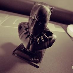 20200831_103605.jpg Download STL file Black panther • 3D printable model, alexfothem