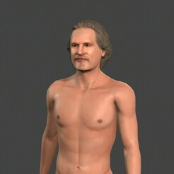 1.jpg Download STL file Beautiful Old Man -Rigged and animated for Unity • Design to 3D print, igorkol1994
