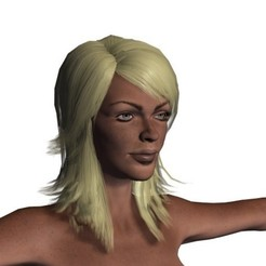 1.jpg Download STL file Animated naked woman-Rigged 3d game character • 3D print design, igorkol1994