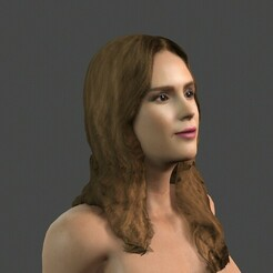0.jpg Download STL file Movie actress Jessica Alba -Rigged 3d character • 3D printer design, igorkol1994