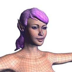 00.jpg Télécharger fichier STL Belle femme nue -Modèle 3D • Design imprimable en 3D, igorkol1994