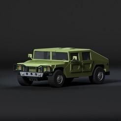 Download 3D printer designs Humvee 3D model Low-poly 3D model, igorkol1994