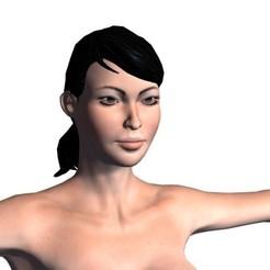 1.jpg Télécharger fichier STL Modèle 3D d'une belle femme nue • Objet pour impression 3D, igorkol1994