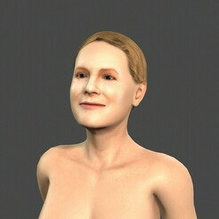 1.jpg Download STL file Beautiful Woman -Rigged and animated for Unity • 3D print model, igorkol1994