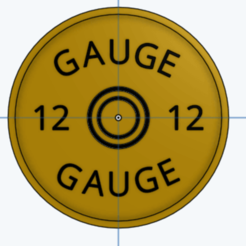 Download 3D printing designs Shotgun Coaster, kwisner97
