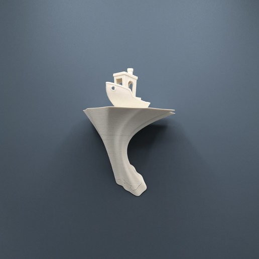 Pilz_1.jpg Download STL file Fungus wall shelf • 3D printable object, JohannesStraka