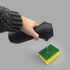 Dispenser_3.jpg Download STL file Soap and washing-up liquid dispenser • 3D printer design, JS_Design
