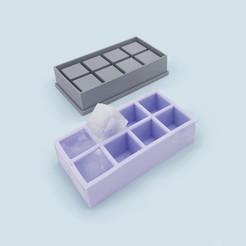 Ice_cube_mold_1.jpg Télécharger fichier STL gratuit Bac à glaçons • Design à imprimer en 3D, JS_Design