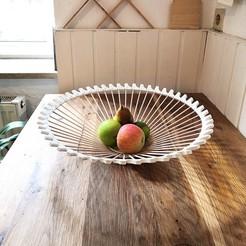 Fruit_Bowl.jpg Télécharger fichier STL Coupe de fruits • Modèle imprimable en 3D, JohannesStraka