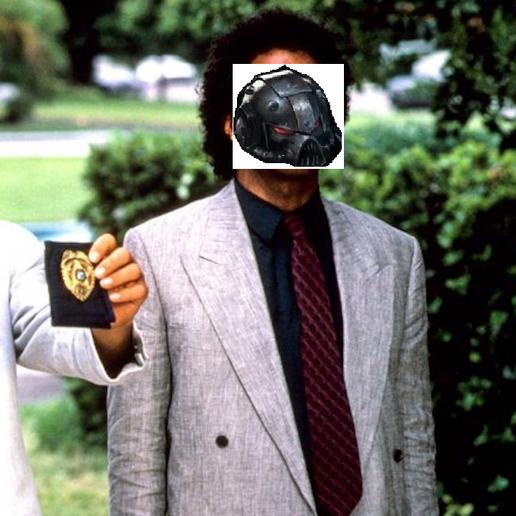 """Grimmo.png Télécharger fichier STL gratuit Adjoint Benny """"Grim"""" Aldus, police de Miami. • Objet pour imprimante 3D, BAD-MAN"""