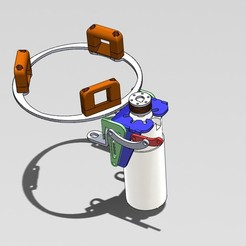 Assemblage JD .JPG Download free STL file John deere flywheel with Version for philget engine 3269_2 • 3D print design, entropiemaximun