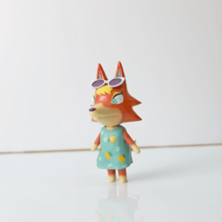 Download free STL file ANIMAL CROSSING AUDIE • Template to 3D print, TAIFigures