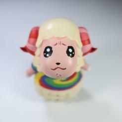 IMG_0319.JPG Download free STL file Animal Crossing Dom • 3D printer design, TAIFigures