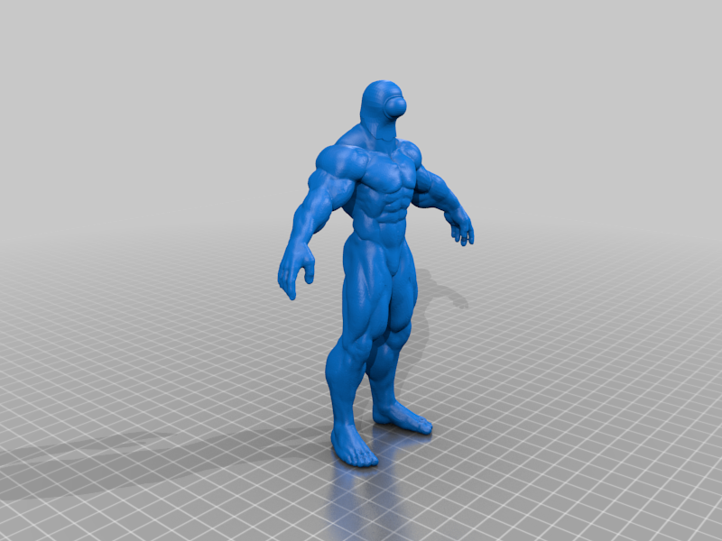 BUFF_AMONG_US_MAN_SCULPTED.png Download free STL file Among Us Beefy Muscle Man • 3D printable object, emily1713