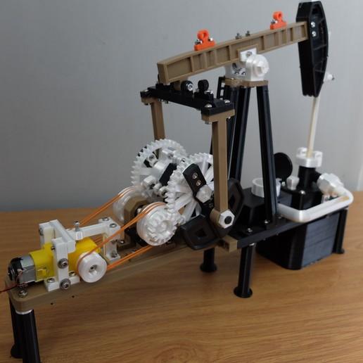 Descargar archivo 3D pozo de petróleo impresora 3D, MPPSWKA7