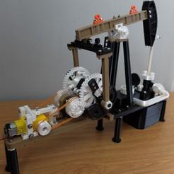 Download STL  oil well 3D printer, MPPSWKA7