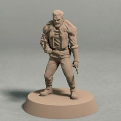 """ring the thief front.jpg Download STL file Ring """"The Thief"""" • 3D printing object, LegendBuilds"""