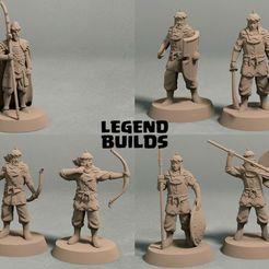 Empire of Jagrad Army pack.jpg Download STL file Empire of Jagrad army (10 miniatures) – STL files • 3D printing design, LegendBuilds