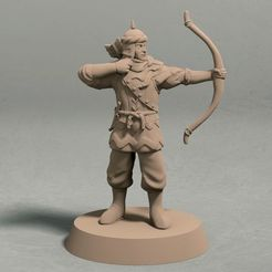 Jagradian empire archer pose 2 front.jpg Télécharger fichier STL Archer de l'Empire de Jagrad pose 2 miniatures - fichier STL • Plan pour imprimante 3D, LegendBuilds