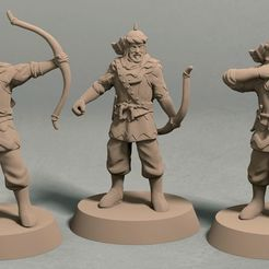 Jagradian empire archer pack front.jpg Télécharger fichier STL Pack d'archer de l'Empire de Jagrad (3 figurines) • Objet à imprimer en 3D, LegendBuilds