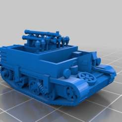 fb4f7f0c18f09a29bc77bcab306551b6.png Télécharger fichier STL gratuit Panzerjäger Bren 731(e) [Échelle 1:100] • Design pour impression 3D, DetnnoSound