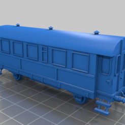 Screen Shot 2020-12-23 at 2.50.00 PM.png Télécharger fichier STL DRG 2-Axle Coach 'Donnerbüchse' (Entraîneur à 2 essieux) • Objet pour imprimante 3D, DetnnoSound