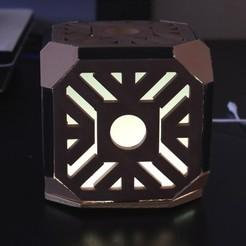 Descargar Modelos 3D para imprimir gratis Holocrón LED iluminado (Star Wars), supernoblehuang