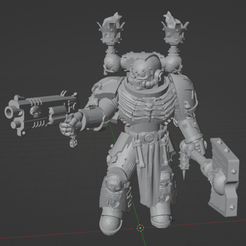 Screenshot from 2020-08-06 16-34-57.png Download free STL file Angry Priest of Death • Object to 3D print, GrimmTheMaker