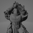 Dark Crusader Executioner 06.png Download free STL file Dark Crusader Executioner • 3D printable object, GrimmTheMaker