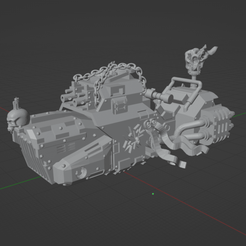 Dark Crusader Grav Bike 1.png Download free STL file Dark Crusader Grav Bike • 3D printer design, GrimmTheMaker