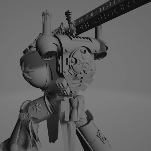Dark Crusader Executioner 07.png Download free STL file Dark Crusader Executioner • 3D printable object, GrimmTheMaker