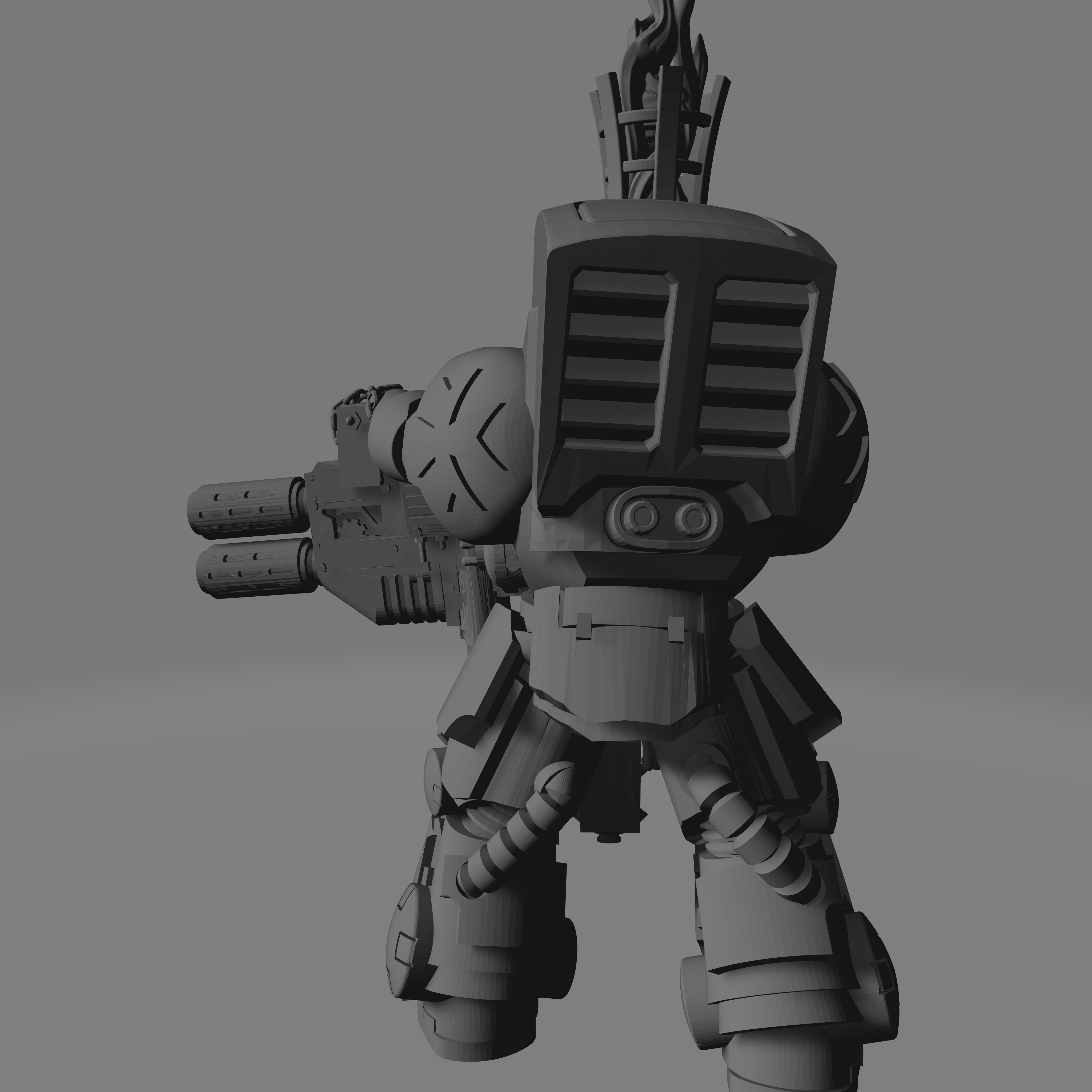 Dark Crusader Heavy Infantry Liquidators - 04 - Heavy 2.jpg Download free STL file Dark Crusader Heavy Infantry Liquidator Squad • 3D printing design, GrimmTheMaker