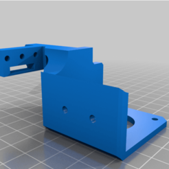 Extruder_Body.png Download free STL file Ender-3 Direct Drive (Stock fan house) with BLTouch, Cable Guide, and Palette 2 Extruder Clip • Template to 3D print, clevi1993
