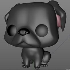 fdfs.jpg Download OBJ file Pug Funko Pop! • 3D print object, dmimpresion3d