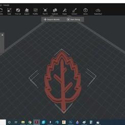 levelvago.jpg Download STL file Leaf cookie cutter 2 • Object to 3D print, kiralyroli