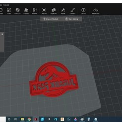 jurassicparkcookie.jpg Download STL file Jurassic Park cookie cutter • 3D printing design, kiralyroli
