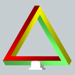 infinitytriangle.png Download STL file Infinity Triangle  • 3D printable design, ShapeMaster1