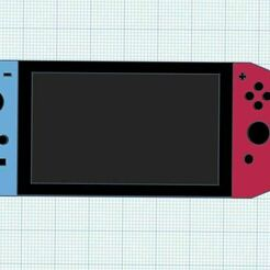 nintendo.JPG Download STL file Nintendo Switch Model With Buttons and Full Details • 3D printer model, harleyoleary05