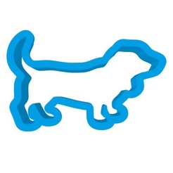 sterge2.jpg Download STL file Basset dog cookie cutter • 3D printing object, Atelier3D