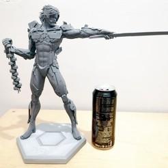 Download 3D model Raiden Statue, Metal Gear Solid, javiherbou87