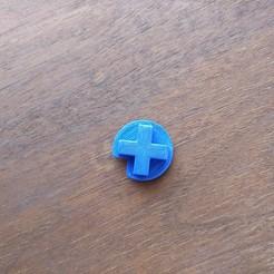 Télécharger plan imprimante 3D gatuit Nintendo Switch Pro Controller D-Pad, lieutenantperiwinkle